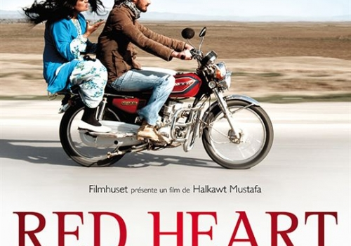 RED HEART de Halkawt Mustafa